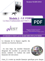 Module 1 (Base fondamentale du Trading fOREX).