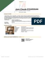 [Free Scores.com] 039 Guessan Gna Houa Jean Claude Sauve Nous 75296