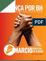 PLANO DE GOVERNO - Márcio Lacerda - Prefeitura de Belo Horizonte (Eleições 2008) - Aliança PT-PSDB