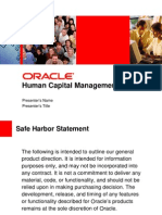 Oracle HCM - Short