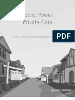 Public Power, Private Gain
