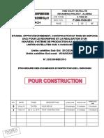 PROCEDURE DES EXIGENCES D'INSPECTION DE L'ARH DGM