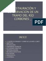 Conservacion y Restauracion Del Rio Corbones Carmona