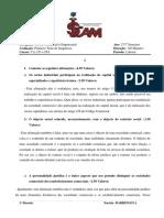 Guiao de Correccao - 2o Teste - DCE