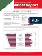 Political Report April 2011