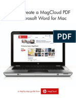 How to Create a MagCloud PDF with Microsoft Word for Mac