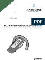 PLANTRONICS EXPLORER 220 MANUAL