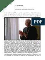 La profezia di Ratzinger sul futuro della Chiesa - dicembre 1969
