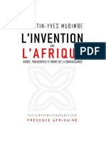 L'invention_de_l'Afrique_Gnose,_philosophie_et_ordre_de_la_connaissance