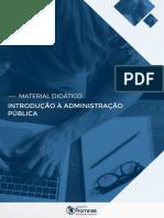 1 Introdução à Administração Pública