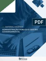 APOSTILA  ADMINISTRAÇÃO PÚBLICA E GESTÃO GOVERNAMENTAL