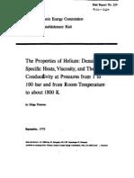 Helium properties