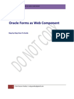 Forms as Web Components Step by Step