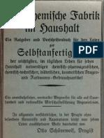 Die Chemische Fabrik Im Haushalt - Otto Schönewolf - Drogist - 1930