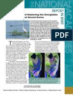 Progress Toward Restoring the Everglades II, Report in Brief