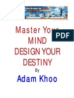 Adam Khoo Master Your Mind Design You Destiny