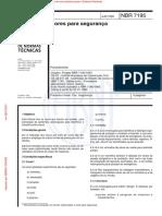 NBR-7195 - Cores nas Plataformas