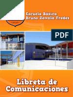 Libreta de Comunicaciones Escuela Bruno Zavala Fredes
