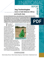 Farmers in Sub-Saharan Africa and South Asia, Report in Brief