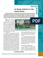 Changes in the Sheep Industry, Report in Brief