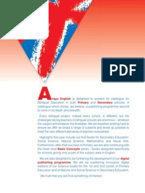 ET01202801_cat_area_bilingue | Reading Comprehension | Books