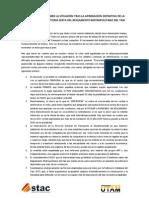 NOTA DE PRENSA SOBRE LA SITUACIÓN TRAS LA APROBACIÓN DEFINITIVA DE LA DISPOSICIÓN TRANSITORIA SEXTA DEL REGLAMENTO METROPOLITANO DEL TAXI
