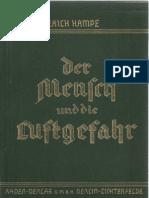 Der Mensch und die Luftgefahr - Erich Hampe - 3. Auflage - 1939