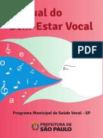 Manual Do Bem-estar Vocal