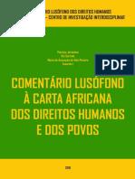 Comentário Lusófono à Carta Africana dos Direitos Humanos e dos Povos
