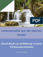 Wasser Lebensqualität aus der eigenen Quelle