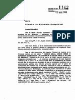Decreto 1142 Licencias Gremiales