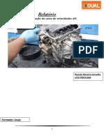 Processo de desmontagem e montagem da caixa de velocidade automática
