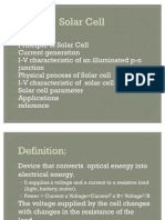 Ppt on Solar Cell