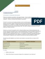 Classroom Assessment Webnotes