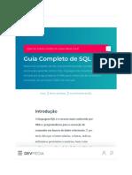 Guia Completo de SQL_ Aprenda SQL Do Básico Ao Avançado