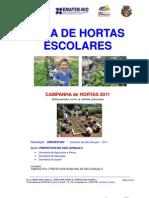 GUIA da HORTA ESCOLAR ou COMUNITÁRIA 2011