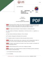 Lei-organica-1-2009-Sao-leopoldo-RS-consolidada-[30-07-2020]