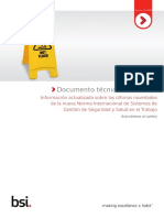 ISO 45001_Documento tecnico_Ultimas novedades