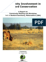Community Involvement in Bustard Conservation_ 2 Report