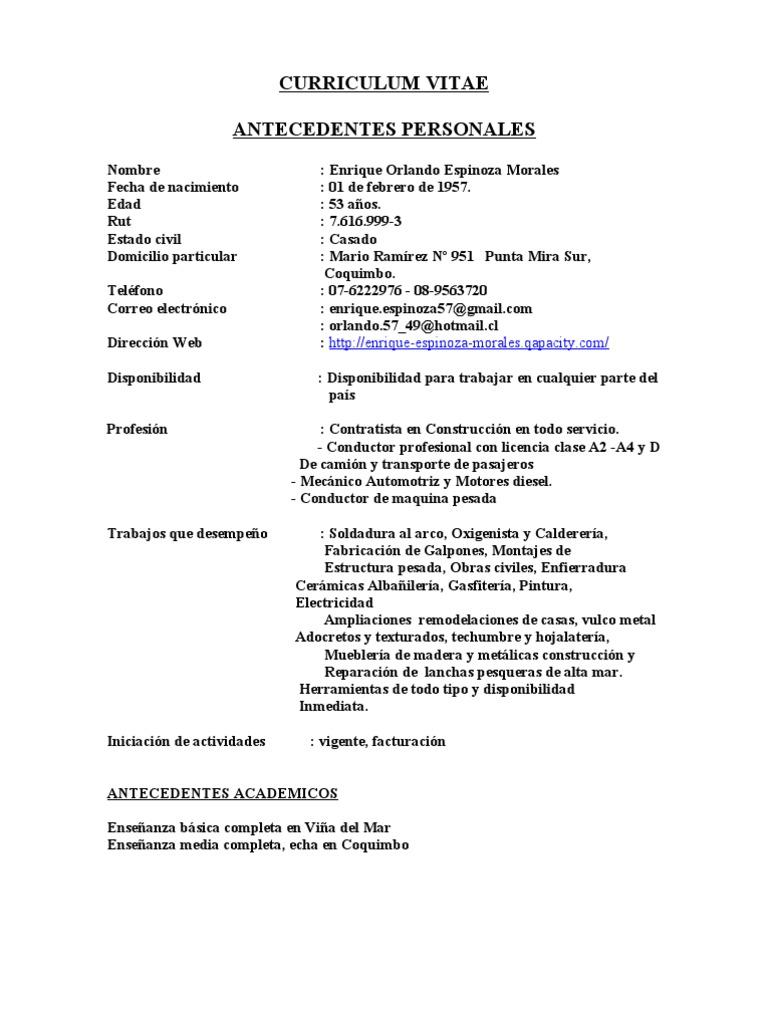 CURRICULUM VITAE (kike)[ nuevo