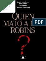 _Quien mato a los Robins_ (con - Thomas Chastain