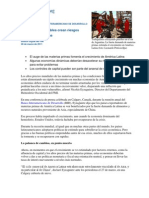 Los vientos favorables crean riesgos para América Latina - FMI