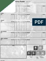 Army List Builder | Military | Sports