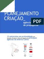 Relação entre planejamento e criação nas agências de propaganda