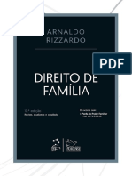 Direito de Familia - Arnaldo Rizzardo - 2019