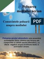 Poluarea mediului aerian