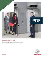 Schindler Brochure Segment Immeubles Commerciaux Modernisation