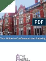 Abbey Centre Conference Guide 2011