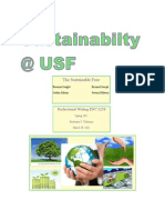The Sustainable Four's view on Sustainability at USF