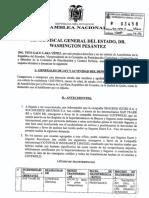 Denuncia de Galo Lara por lavado de activos en seguros públicos